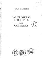 julio sagreras - las primeras lecciones de guitarra.pdf