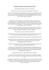 São Pio de Pietrelcina - Pensamentos.pdf