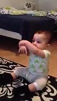 Gangam style dance done by an Cute baby.mp4