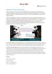 Ad Film Production Agencies in Delhi, Chennai, India, Hyderabad.pdf