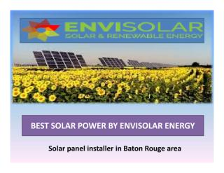 best solar power by envisolar energy.pdf