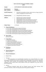 RPP Ekonomi Kelas X Semester I.doc