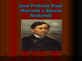 alcain jose rizal biography.ppt