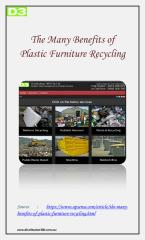 Benefits of Plastic Furniture Recycling.pdf