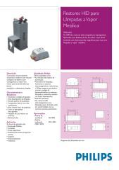 Reator HIDPhilipsVaporMetalico.pdf